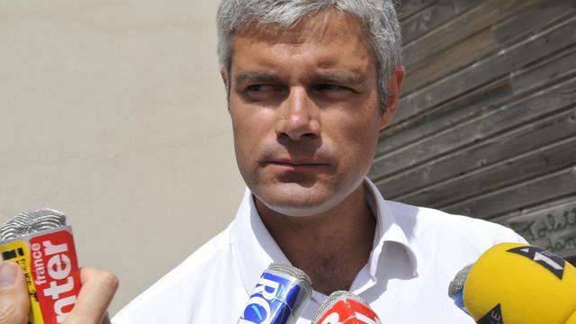 Le député UMP Laurent Wauquiez, le 19 août 2012 à Estables [Thierry Zoccolan / AFP/Archives]