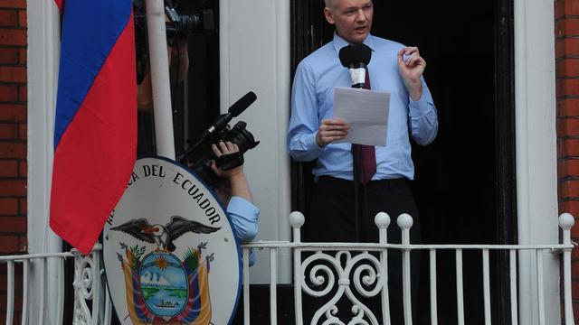 Le fondateur de WikiLeaks Julian Assange.