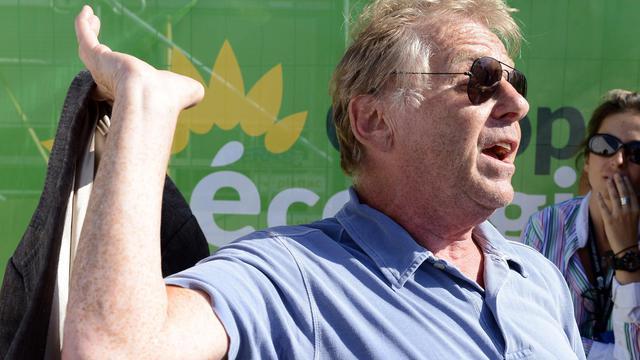 Le député européen EELV, Daniel Cohn-Bendit, le 22 août 2012 à Poitiers, dans l'ouest de la France [Alain Jocard / AFP/Archives]
