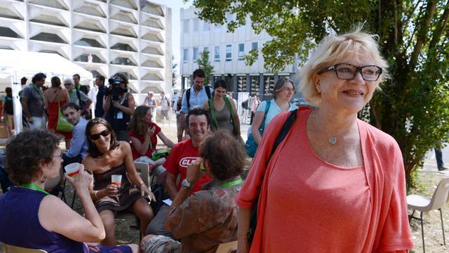 Eva Joly le 22 août 2012 à Poitiers [Alain Jocard / AFP/Archives]