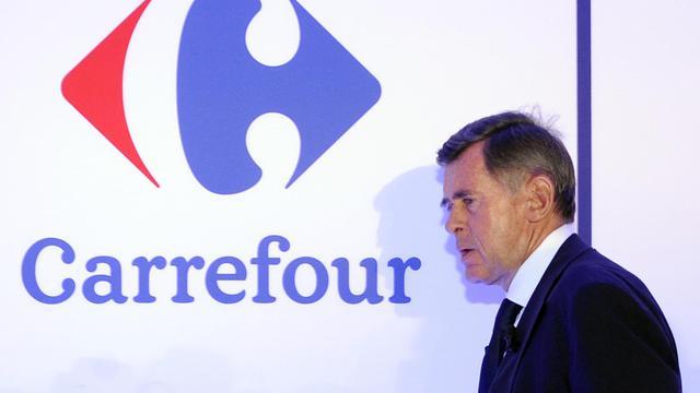 Le PDG de Carrefour Georges Plassat, le 30 août 2012 à Paris [Bertrand Guay / AFP/Archives]