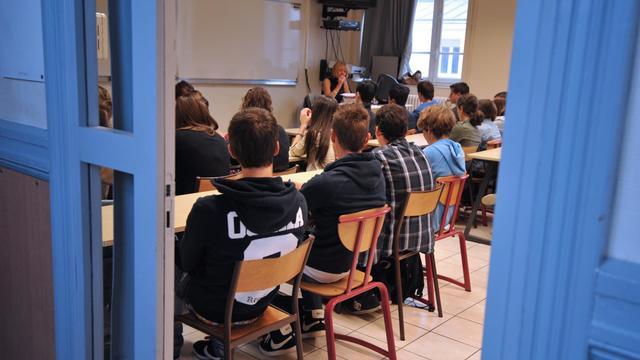 Une salle de classe, à Nantes, le 4 septembre 2012 [Frank Perry / AFP/Archives]