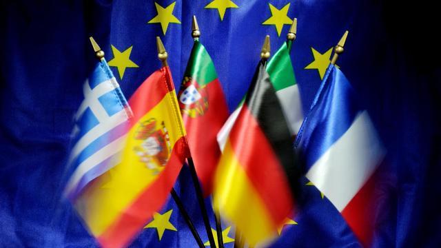 Des drapeaux européens [Philippe Huguen / AFP/Archives]