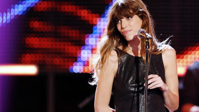 Lou Doillon chante durant Le Grand Journal, sur Canal +, le 4 septembre 2012 à Paris [Francois Guillot / AFP/Archives]