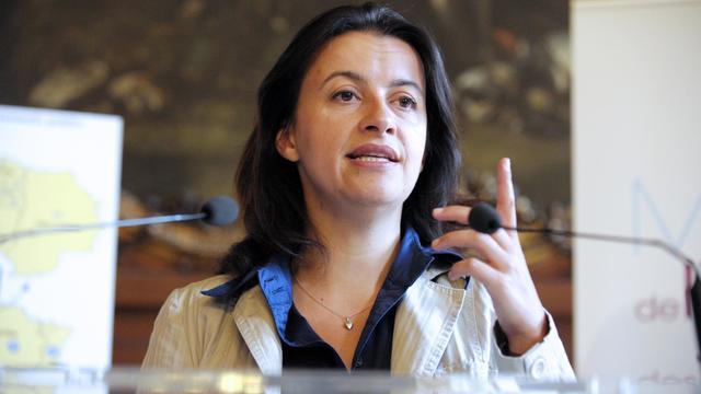 Cécile Duflot à Paris, le 5 septembre 2012 [Eric Piermont / AFP/Archives]