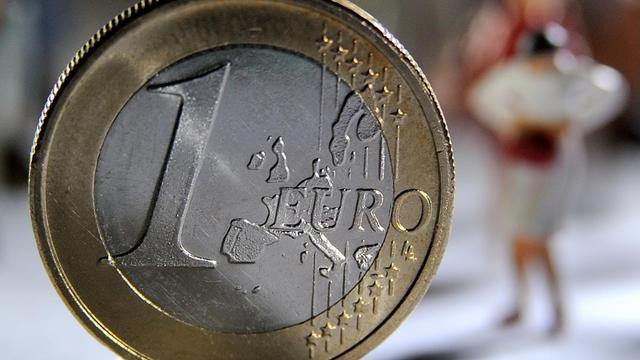 Un euro [Philippe Huguen / AFP/Archives]