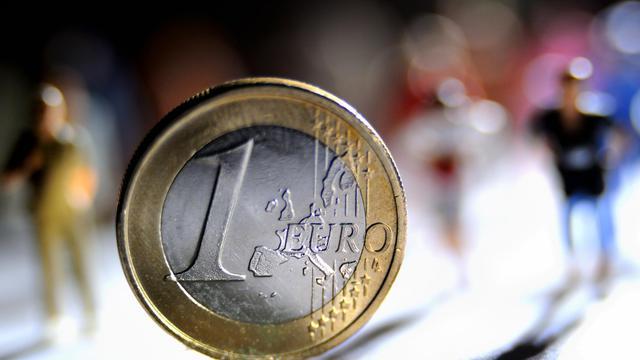 Une pièce d'un euro [Philippe Huguen / AFP/Archives]