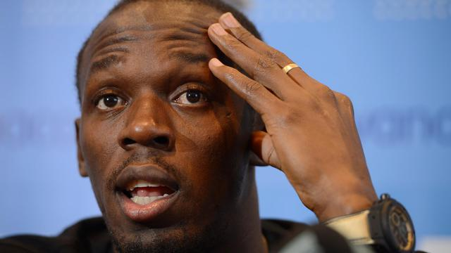Le sprinteur jamaïcain Usain Bolt, sextuple champion olympique et supporteur de Manchester United, pourrait porter le maillot du club anglais en juin prochain à l'occasion d'un match de charité contre d'anciennes gloires du Real Madrid, selon Alex Ferguson. [BELGA]