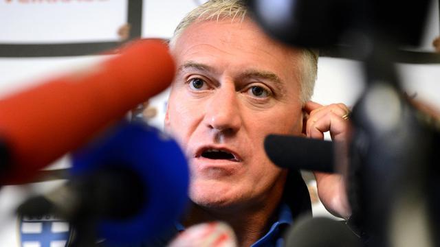 """Le sélectionneur de l'équipe de France Didier Deschamps a affirmé, jeudi en conférence de presse, avoir une certaine """"excitation"""" avant d'entamer la phase qualificative pour le Mondial-2014, vendredi en Finlande, mais sans """"inquiétude"""" ni de """"pression"""". [AFP]"""