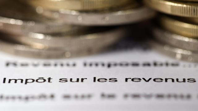 Un avis d'imposition sur le revenu [Joel Saget / AFP/Archives]