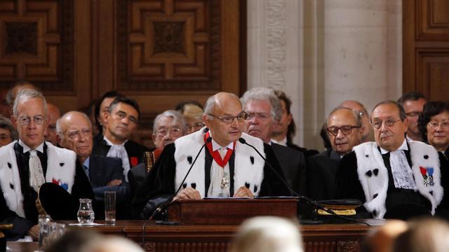 Le président de la Cour des comptes Didier Migaud, le 7 septembre 2012 à Paris [Pierre Verdy / Pool/AFP/Archives]