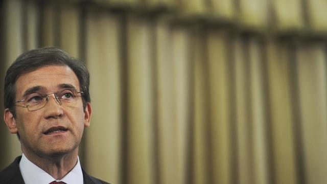 Le Premier ministre portugais Pedro Passos Coelho, le 7 septembre 2012 à Lisbonne [Patricia de Melo Moreira / AFP/Archives]