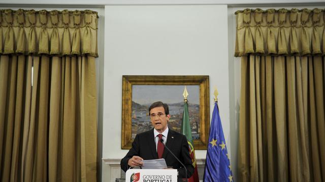 Le Premier ministre portugais a annoncé vendredi un renforcement de la rigueur l'année prochaine alors que le Portugal, sous assistance financière, ne parvient pas à respecter ses engagements de réduction du déficit public. [AFP]