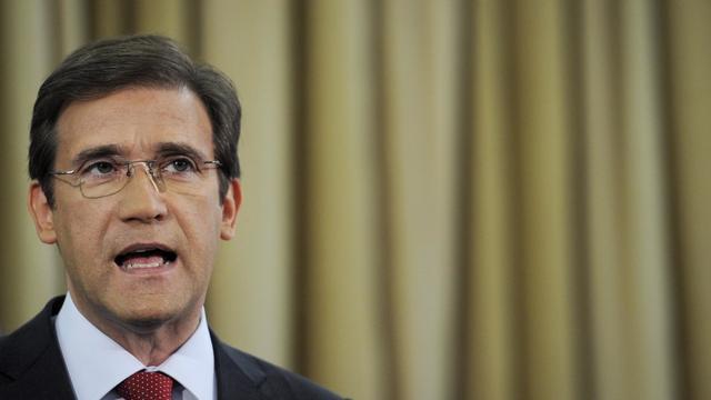 Le Premier ministre portugais Pedro Passos Coelho s'exprime le 7 septembre 2012 à Lisbonne [Patricia de Melo Moreira / AFP/Archives]
