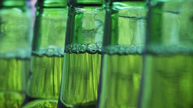 Des bouteilles de bière [Joel Saget / AFP/Archives]