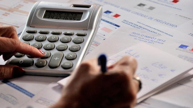 Déclaration d'impôts en septembre 2012 [Philippe Huguen / AFP]