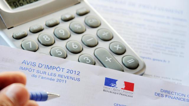 Une feuille de déclaration d'impôts [Philippe Huguen / AFP/Archives]