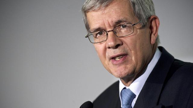 Philippe Varin, le 10 septembre 2012 à Sochaux [Sebastien Bozon / AFP/Archives]