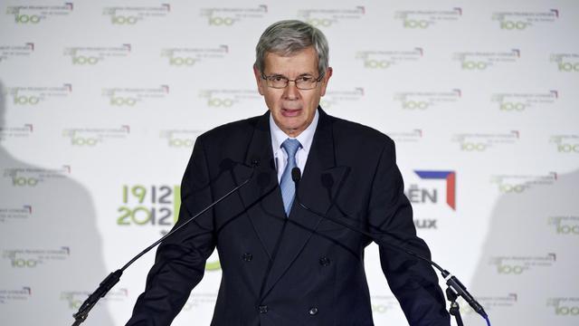 Philippe Varin, président du directoire de PSA Peugeot Citroën, le 10 septembre 2012 à Sochaux [Sebastien Bozon / AFP/Archives]