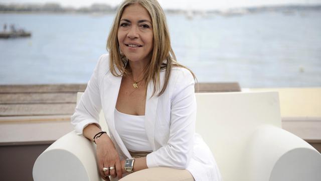 Marie-Christine Saragosse, le 15 mai 2010 à Cannes [Anne-Christine Poujoulat / AFP/Archives]
