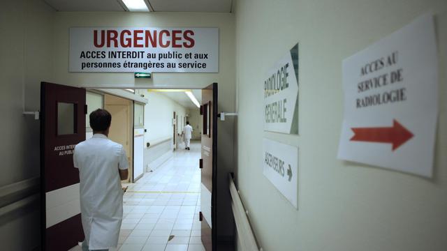 Le couloir d'un hôpital [Charly Triballeau / AFP/Archives]
