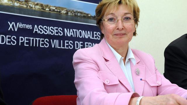 La ministre déléguée chargée de la Décentralisation Anne-Marie Escoffier le 13 septembre 2012 à Castelnaudary [Remy Gabalda / AFP/Archives]