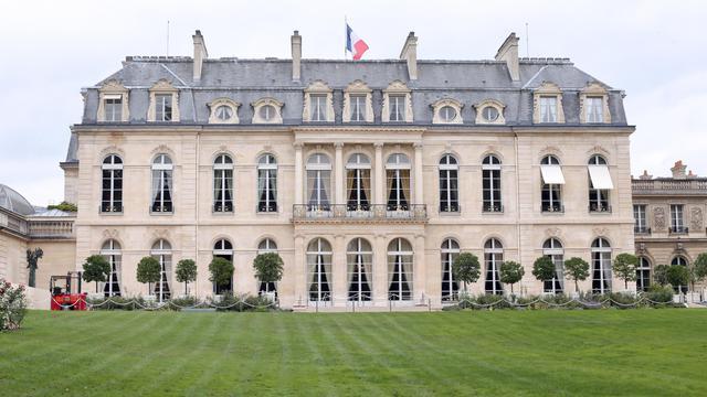Le Palais de l'Elysée à Paris [Thomas Samson / AFP/Archives]