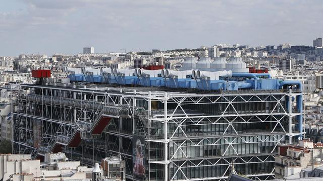 Une vue du Centre Pompidou, à Paris [Kenzo Tribouillard / AFP/Archives]