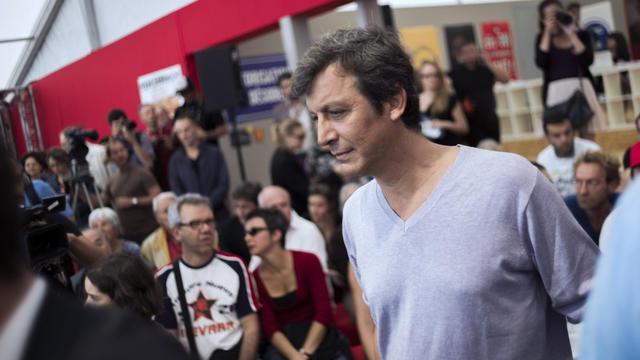 Le porte-parole du PS, David Assouline, le 15 septembre 2012 à La Courneuve près de Paris [Fred Dufour / AFP/Archives]