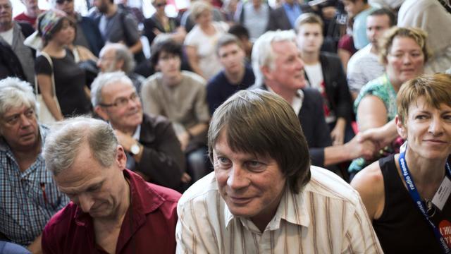 Bernard Thibault le 15 septembre 2012 à La Courneuve [Fred Dufour / AFP/Archives]