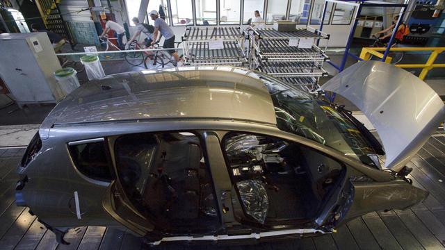 Une chaîne de montage automobile en France [Sebastien Bozon / AFP/Archives]