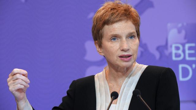 La présidente du Medef, Laurence Parisot, le 18 septembre 2012 à Paris [Eric Piermont / AFP/Archives]