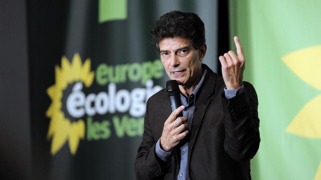 Pascal Durand, secrétaire national d'EELV, livre un discours lors d'un congrès du parti écologiste, le 18 septembre 2012 [Jean-Sebastien Evrard / AFP/Archives]