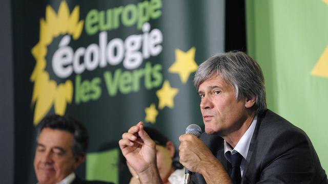 Le ministre de l'Agriculture, Stéphane Le Foll, au congrès d'EELV, le 18 septembre 2012 à Nantes [Jean-Sebastien Evrard / AFP/Archives]