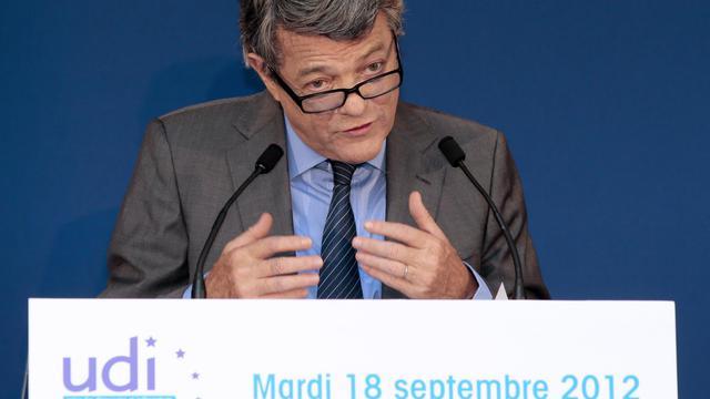 Jean-Louis Borloo le 18 septembre 2012 à Paris [Jacques Demarthon / AFP/Archives]