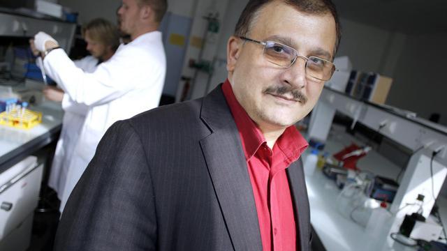 Le professeur Gilles-Eric Séralini à Caen, le 18 septembre 2012 [Charly Triballeau / AFP/Archives]
