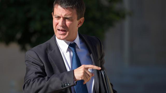 Manuel Valls le 19 septembre 2012 à Paris [Bertrand Langlois / AFP]