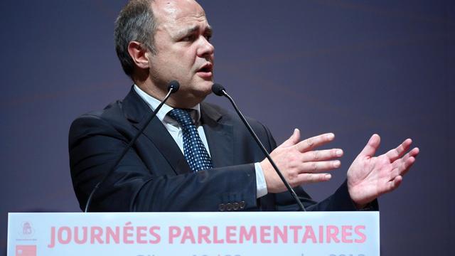 Bruno Le Roux le 19 septembre 2012 à Dijon [Philippe Desmazes / AFP/Archives]