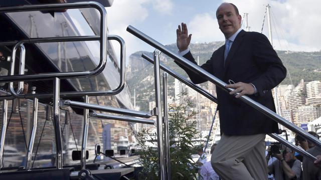 Le prince Albert II, le 19 septembre 2012 à Monaco [Valery Hache / AFP/Archives]