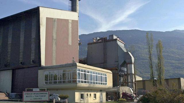 L'usine d'incinération exploitée par Novergie à Gilly-sur-Isère et fermée en octobre 2001 pour une fuite de dioxine [Jean-Pierre Clatot / AFP/Archives]