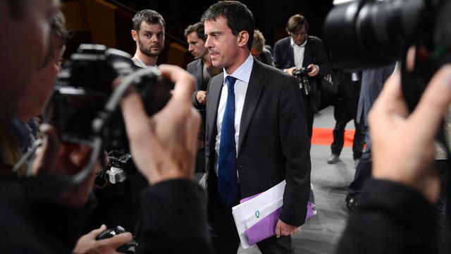 Manuel Valls le 20 septembre 2012 à Dijon [Philippe Desmazes / AFP/Archives]