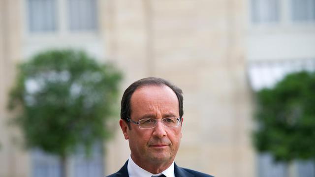Le chef de l'Etat François Hollande, le 20 septembre 2012 à Paris [Bertrand Langlois / AFP/Archives]