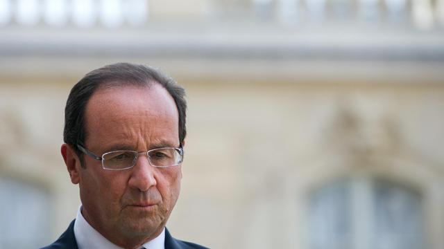 Le président François Hollande, le 20 septembre 2012 à Paris [Bertrand Langlois / AFP/Archives]