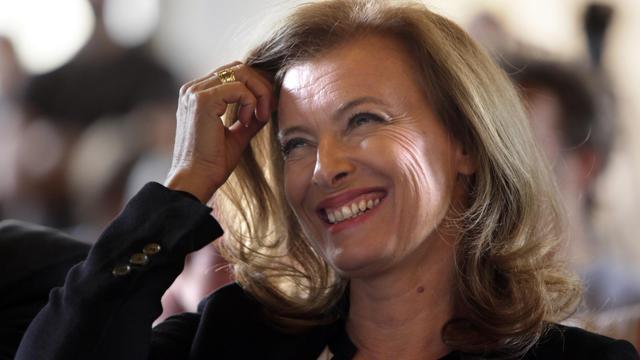 Valérie Trierweiler, le 20 septembre 2012 à Paris. [Kenzo Tribouillard / AFP/Archives]