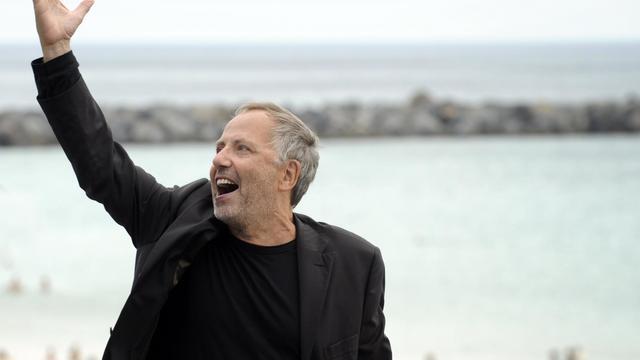Fabrice Luchini pose le 23 septembre 2012 à l'occasion du festival de cinéma de Saint-Sébastien [Rafa Rivas / AFP/Archives]