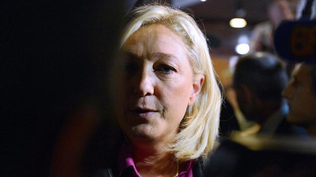 Marine Le Pen, le 23 septembre 2012 à La Baule-Escoublac [Alain Jocard / AFP/Archives]
