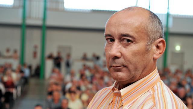 Loïc Sécher le 1er juillet 2011 à Belligné [Alain Jocard / AFP/Archives]
