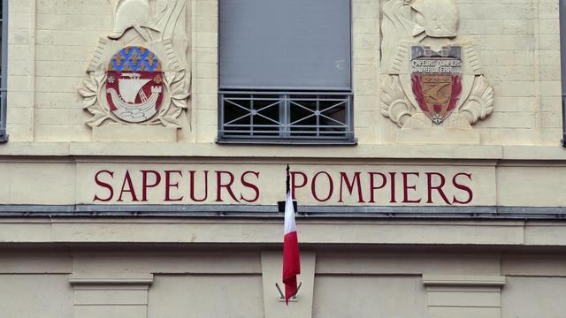 Une caserne des pompiers à Paris [Jacques Demarthon / AFP/Archives]