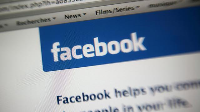 La page d'accueil du réseau social Facebook [Loic Venance / AFP/Archives]