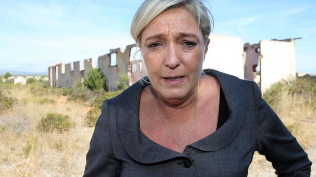 La présidente du FN Marine Le Pen, le 25 septembre 2012 à Rivesaltes [Raymond Roig / AFP/Archives]
